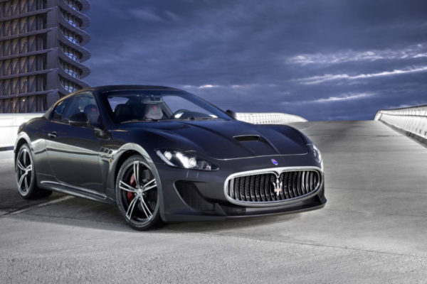 Maserati luxury car depicting trust fund baby wealth